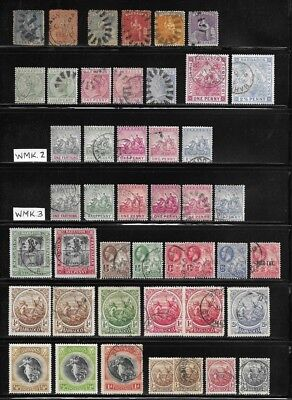 Large Collection of Stamps - Barbados - - - - - - - -  (7 pages)