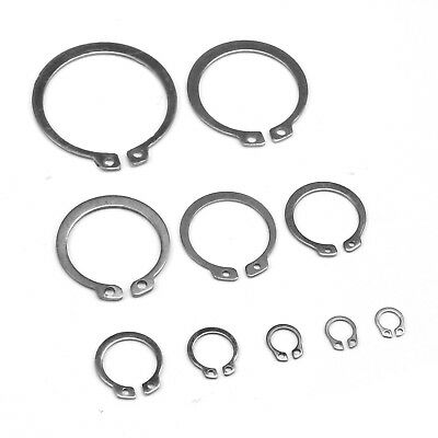 M8 -M45 304 Stainless Steel External Circlip C Clip Retaining Ring Snap Ring