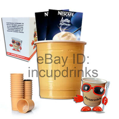 Nescafe 'Gold' Latte, In Cup Drinks for 73mm Vending - **REDUCED** BB July 2019
