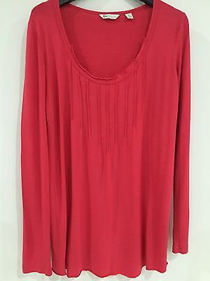 Ripe Maternity Longsleeved Red Top Size S