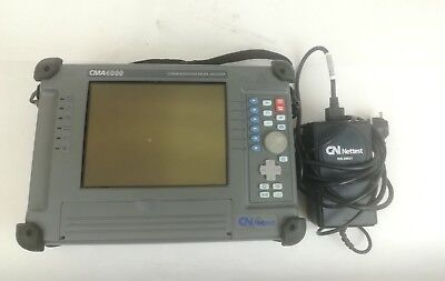 GN Nettest CMA4000 Portable Communications Media Analyzer With Power Adapter