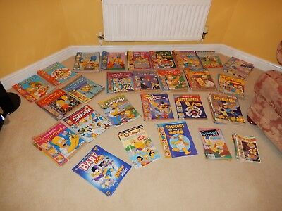 Simpson Simpsons Bart Comic Comics Mega Bundle - 186 Issues