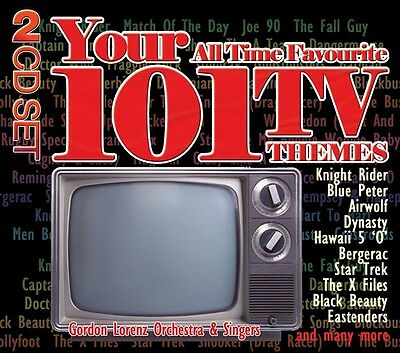 Gordon Lorenz Orchestra - Your 101 All Time Favourite TV Themes (2CD) CD