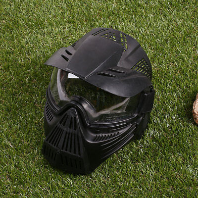 984E PC Full Face Mask Hunting CS War Game Field Tactical Airsoft Paintball  CF