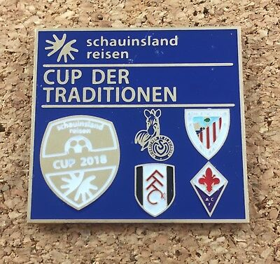 Pin MSV Duisburg ACF Fiorentina Fulham Athletic Bilbao Cup der Traditionen 2018