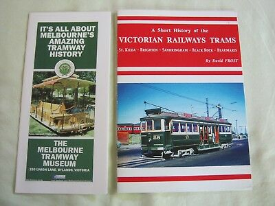 VICTORIAN RAILWAYS TRAMS by David Frost. & old Bylands Flyer