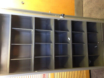 6ft grey 2 door steel cabinet