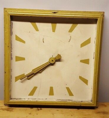Gent Of Leicester Industrial Electric Wall Clock - 200/250V