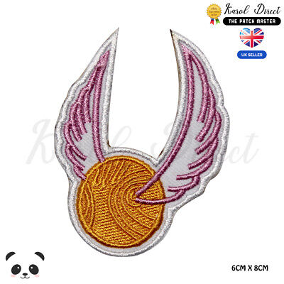 Harry Potter Quidditch Embroidered Iron On Sew On PatchBadge