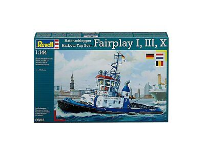 Revell 05213 Hafenschlepper Fairplay I, III, X 1:144 Neu OVP
