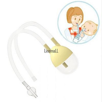 Baby Safe Nose Cleaner Vacuum Suction Nasal Mucus Runny Aspirator LM