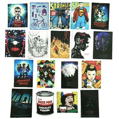 Stranger Things Adhesive Sticker 18 pieces lot #1 VIC