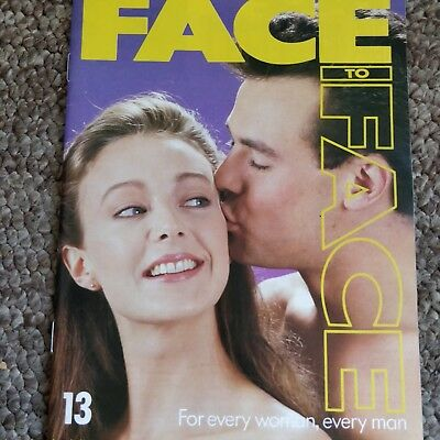 RARE Marshall Cavendish 1980s Face To Face Adult Sexual Relationship Magazine 13