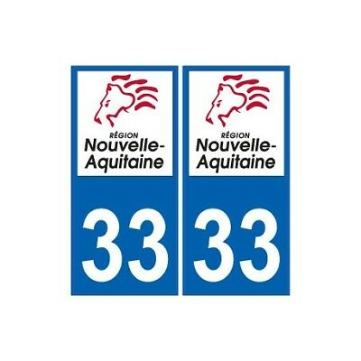 Automobilia Hearty 74 Haute-savoie Departement Immatriculation 2 X Autocollants Sticker Autos Badges, Insignes, Mascottes