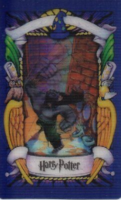 Harry Potter.  Chocolate frog card.  The Troll (2)