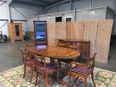 rackstraw reproduction yew dining table