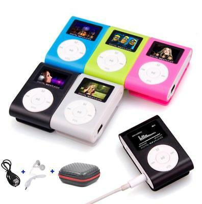 Portable Mini USB Digital MP3 Player LCD Screen Support 32GB Micro SD TF Card G