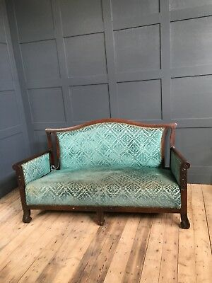 Lovely Edwardian Two Seater Sofa Good Condition