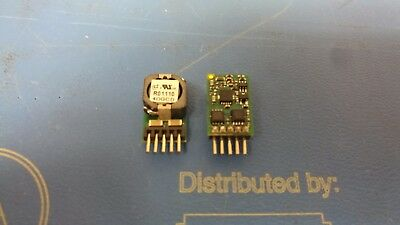 DC Buck Converter 5V @ 250mA  Part NMV1212SAC 2 Two Murata Isolated DC