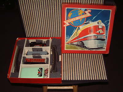 Vintage Distler Battery Operated Train. Complete & Original W/box! Fully Working