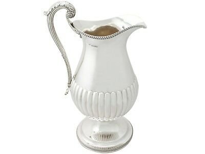 Antique George IV Sterling Silver Wine Ewer Flagon by William Bateman I 1815
