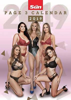 Sun Page 3 A3 Calendar 2019 Models  Month To View