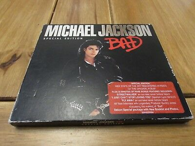 Michael Jackson - BAD - Special Edition - CD