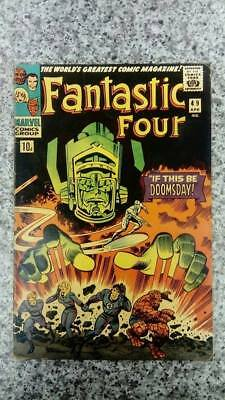 FANTASTIC FOUR #49 1966 1st APP GALACTUS  2nd SILVER SURFER VG+/FN Appearance