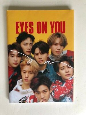 Eyes On You Album by GOT7 (ON VERSION) unsealed no photocard + JACKSON POSTER