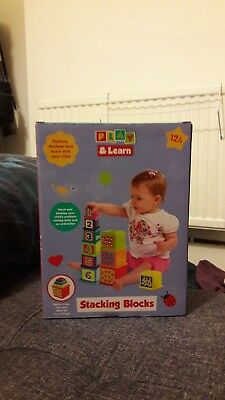 Play And Learn Stacking Blocks