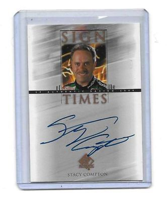 2000 Upper Deck SP Authentic Sign Of The Times Stacy Compton BV$$$ MUST SEE!