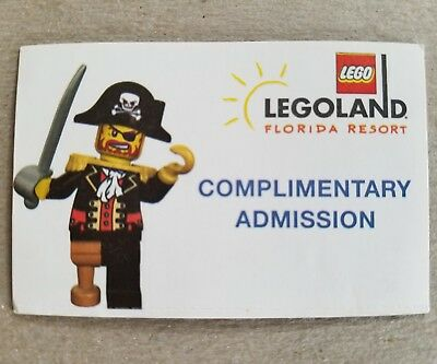 1 LEGOLAND Florida PARK + WATERPARK Ticket  (Expires 07/24/19)