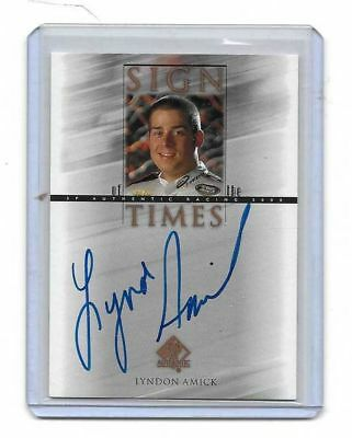2000 Upper Deck SP Authentic Sign Of The Times Lyndon Amick BV$$$ MUST SEE!