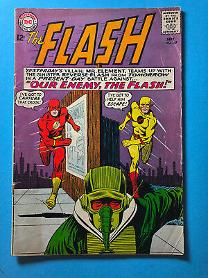 The Flash 147 DC 09/64 2nd app Professor Zoom Reverse Flash Mr Element A1