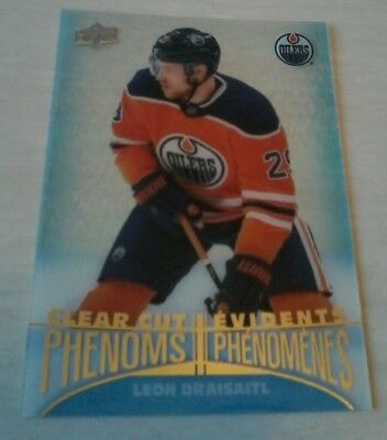 2018-19 Jack Eichel Acetate  Tim Hortons Clear Cut Phenoms Sp Upper Deck Ud