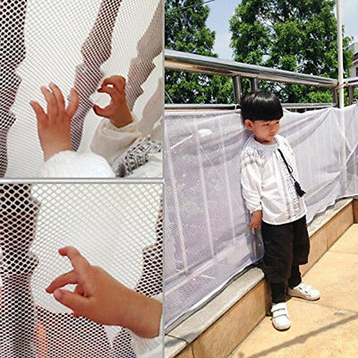 Stair Safety Net Small Gridding Protection Installation Balcony Baby Secure Gate