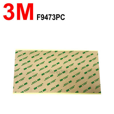 "3M VHB F9473PC ADHESIVE TRANSFER DOUBLE STICK TAPE  4""x8"" 100mm*200mm"
