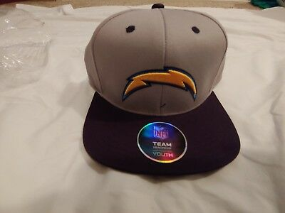 54a0d94d CHARGERS CAP HAT Youth Boys NFL Chargers
