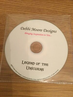 Legend Of The Unicorns Debbi Moore Designs - Paper Crafting  Cd Rom Card Making