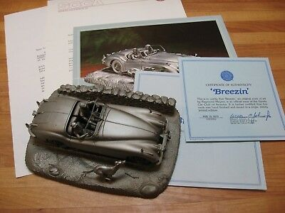 JAGUAR XK-140 PEWTER TRIBUTE 1948 by RAYMOND MEYERS Commissioned 1978 by SCCA