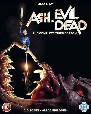Ash Vs Evil Dead Series 3 Third Season  Blu Ray Slip Cover Sleeve Only