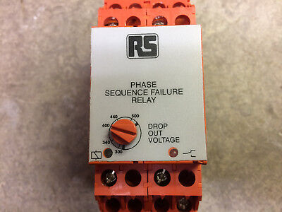 M3PR Broyce Control 3 Phase Sequence Failure Relay (RS 342-944)