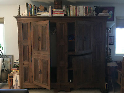 Gorgeous 16th Century Large European Armoire - Own A Piece Of History!
