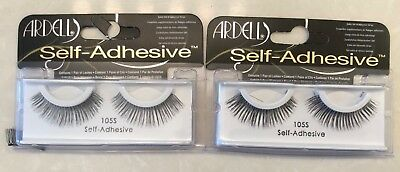2 Pairs/Boxes Ardell Press On Self-Adhesive False Lashes Eyelashes New