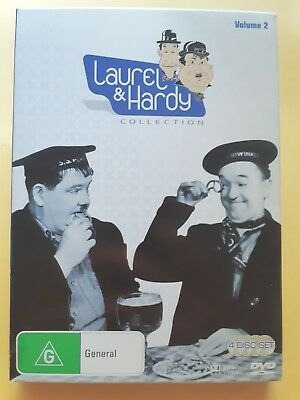 Laurel And Hardy : Collection 2 [ 4 DVD Box Set ] Region 4, FREE Post