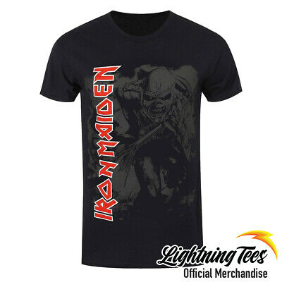 Official Iron Maiden Trooper Hi Contrast Rock Band T-Shirt