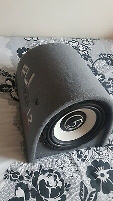 Fli 12 subwoofer box, with replacement speaker