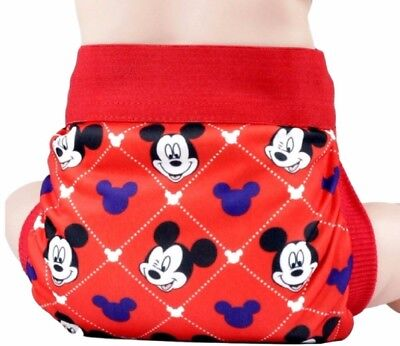 Mickey Mouse Adjustable Polyester Unisex Children's Reusable Diaper