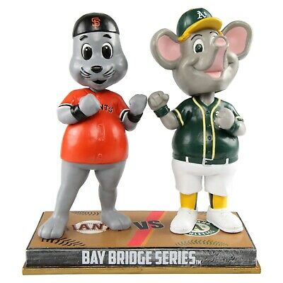 San Francisco Giants Oakland Athletics Lou Seal Stomper Rivalry Bobblehead MLB