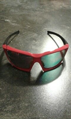 Sportbrille UVEX Sportstyle 710 v, red black, mirror red (S3)
